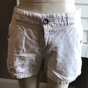 Anthropologie ivory shorts 6
